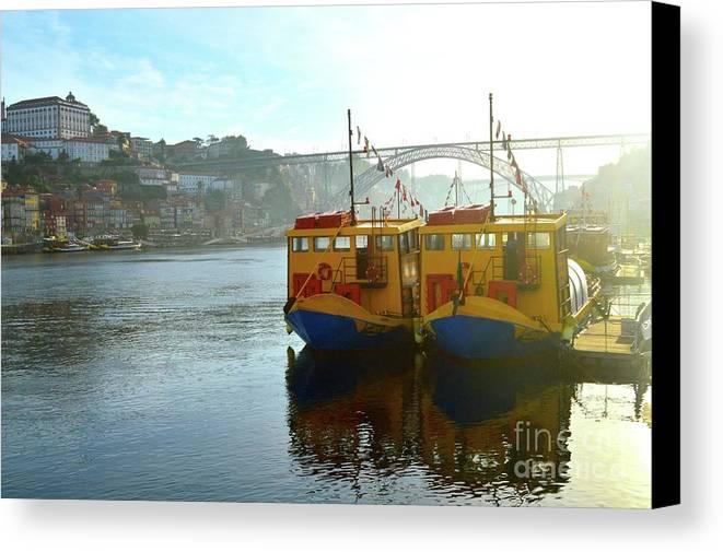 Portugal Canvas Print featuring the photograph Porto by Victoria Cerqueira