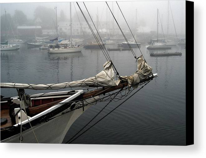 Boats Canvas Print featuring the photograph Sailing On Hold by Neil Doren