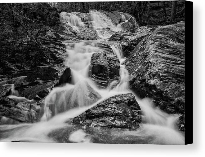 Waterfall Canvas Print featuring the photograph Spring Cascades #9 by Irwin Barrett