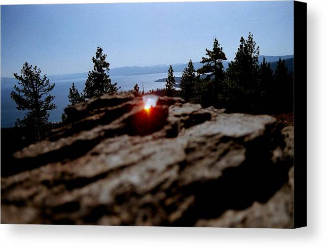 Prism Canvas Print featuring the photograph Tahoe by Steven Wirth