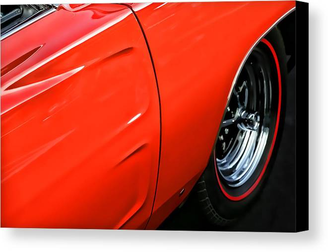 Hemi Canvas Print featuring the photograph 1969 Dodge Charger Rt by Gordon Dean II