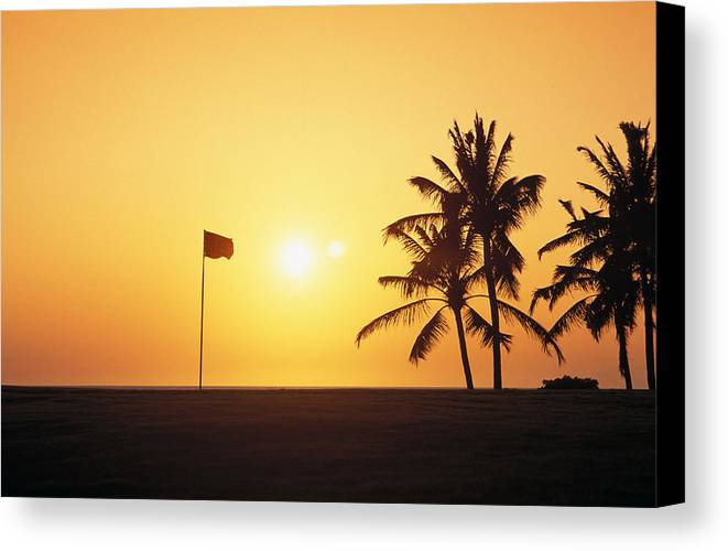 Afternoon Canvas Print featuring the photograph Mauna Kea Beach Resort by Carl Shaneff - Printscapes