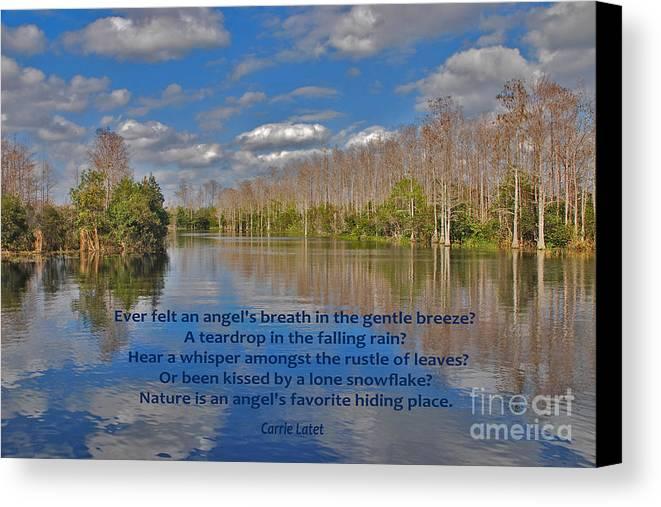 Angel's Breath Canvas Print featuring the photograph 22- An Angel's Breath by Joseph Keane