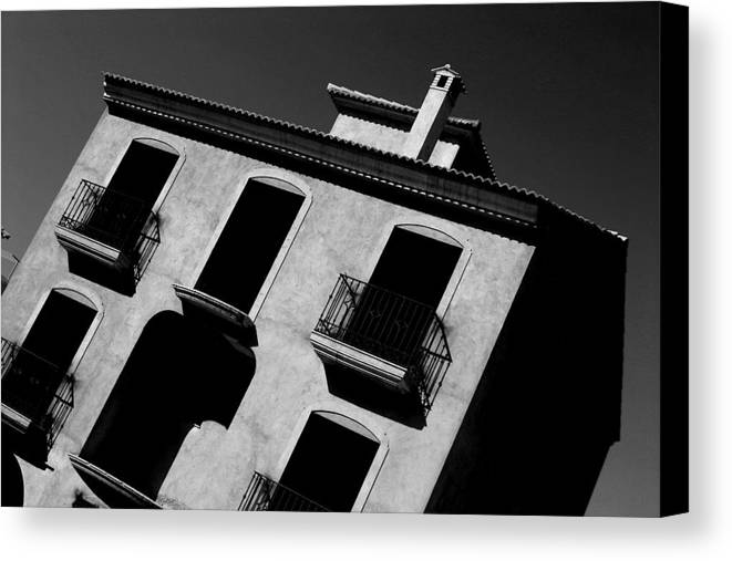 Photographer Canvas Print featuring the photograph Enter At Your Peril by Jez C Self