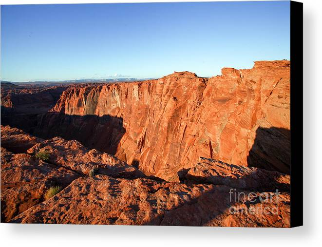 Horseshoe Bend Canvas Print featuring the photograph Horseshoe Bend Colorado River Arizona Usa by Gal Eitan