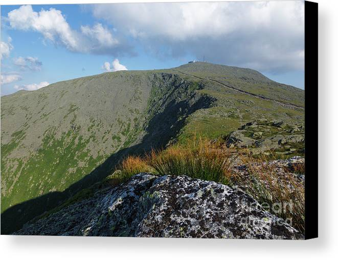 New Hampshire Canvas Print featuring the photograph Mount Washington - New Hampshire White Mountains by Erin Paul Donovan