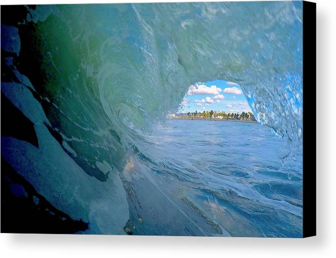 Surf Canvas Print featuring the photograph Venice Surf by Martin Wolfe
