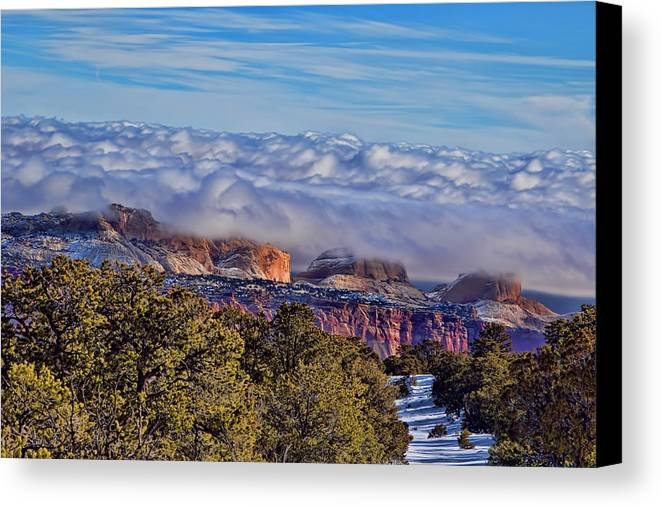 Capitol Reef National Park Canvas Print featuring the photograph Capitol Reef National Park by Mark Smith
