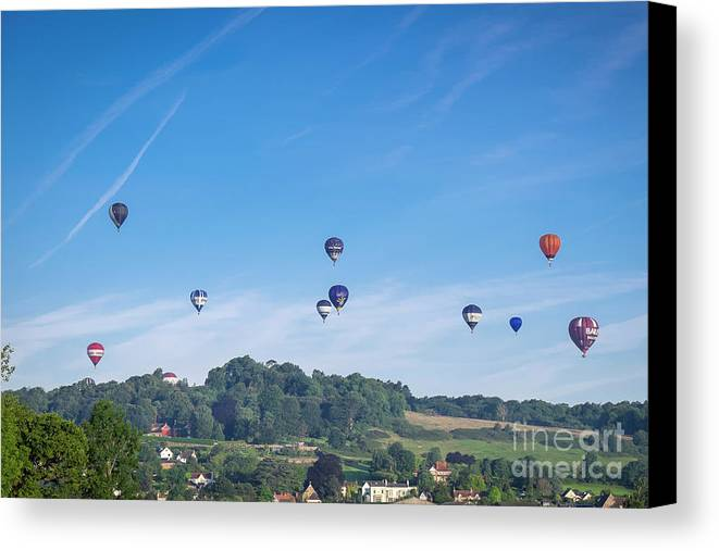 Bristol Canvas Print featuring the photograph England by Milena Boeva