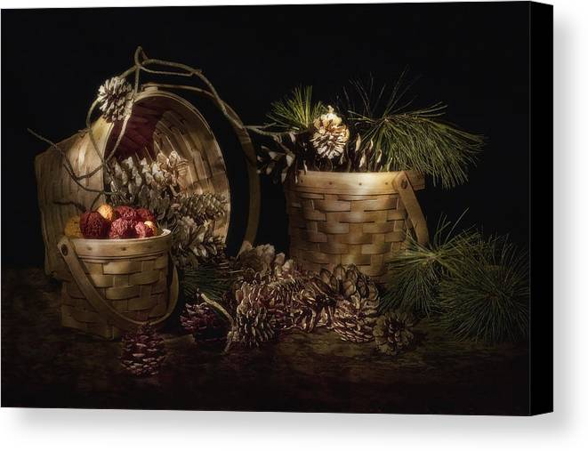 Art Canvas Print featuring the photograph A Gathering Of Pine by Tom Mc Nemar