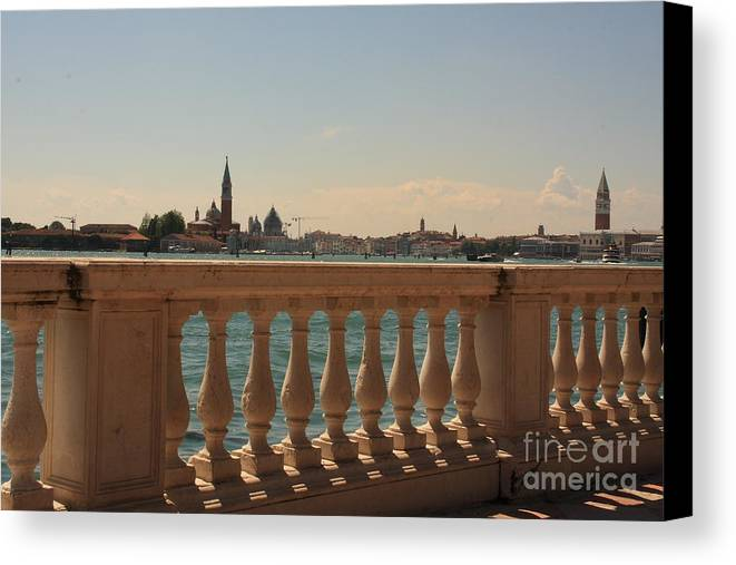 Venice Canvas Print featuring the photograph A View Of Venice by Michael Henderson