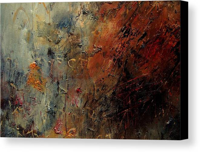 Abstract Canvas Print featuring the painting Abstract 900192 by Pol Ledent