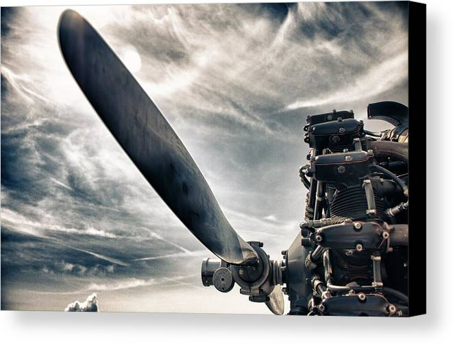 Airplane Canvas Print featuring the photograph Aero Machine by Nathan Larson