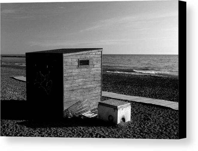 Photographer Canvas Print featuring the photograph Almeria 38 by Jez C Self
