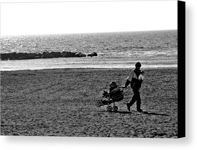 Photographer Canvas Print featuring the photograph Almeria by Jez C Self