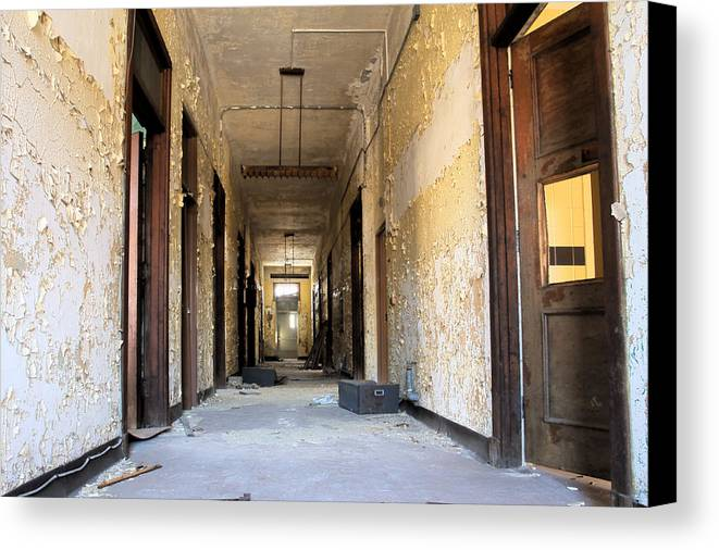 Abandonment Canvas Print featuring the photograph Anxiety by Kevin Brett