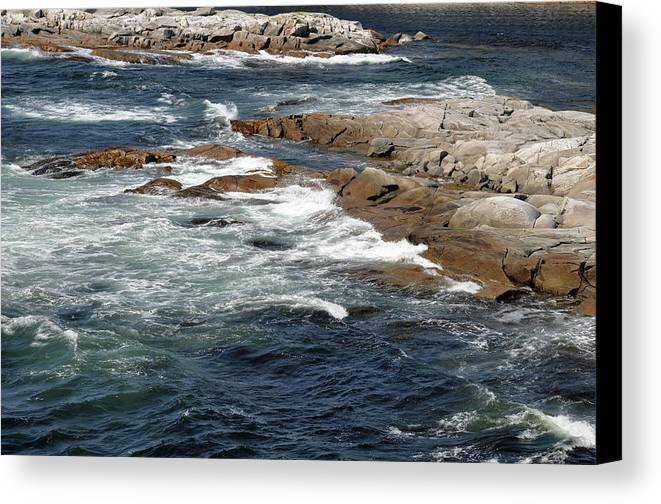 Atlantic Ocean Canvas Print featuring the photograph Atlantic by Colleen English