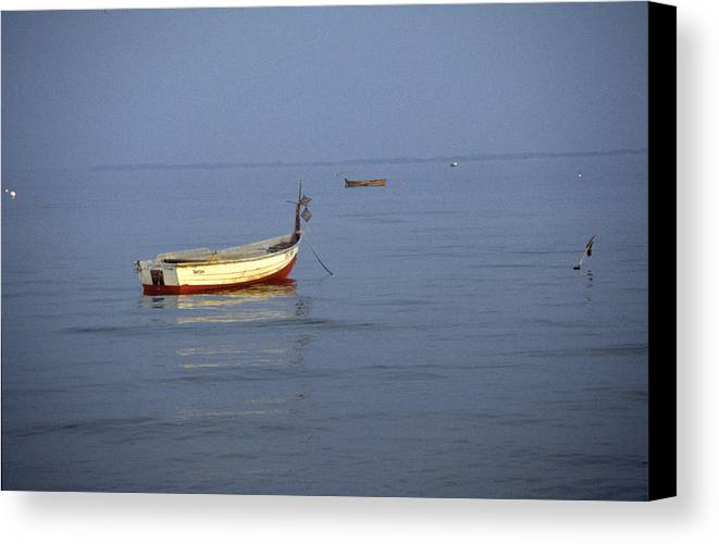 Baltic Sea Canvas Print featuring the photograph Baltic Sea by Flavia Westerwelle