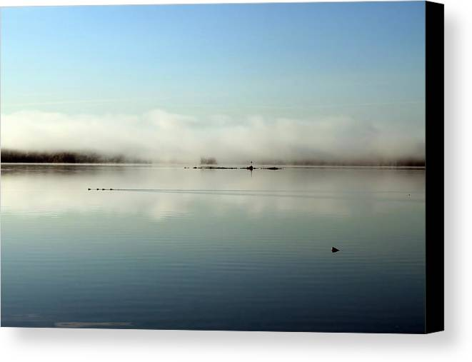 Cathy Beharriell Canvas Print featuring the photograph Before The Noise by Cathy Beharriell