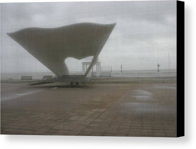 Photographer Canvas Print featuring the photograph Bexhill 10 by Jez C Self