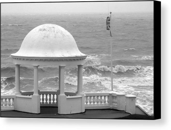 Photographer Canvas Print featuring the photograph Bexhill 14 by Jez C Self