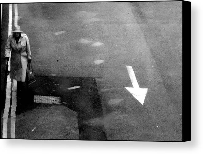 Photographer Canvas Print featuring the photograph Bexhill 17 by Jez C Self