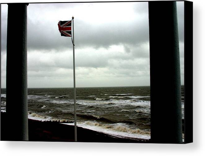 Photographer Canvas Print featuring the photograph Bexhill 2 by Jez C Self