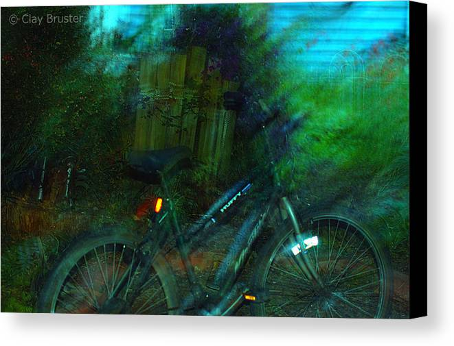Clay Canvas Print featuring the photograph Bicycle by Clayton Bruster