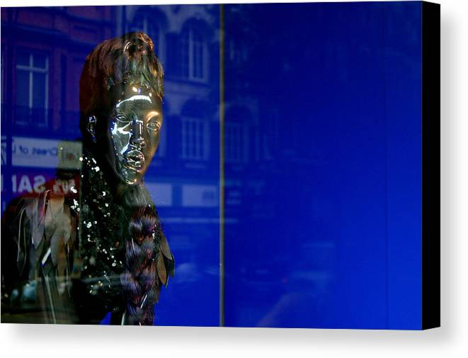 Jez C Self Canvas Print featuring the photograph Blue Queen 2 by Jez C Self