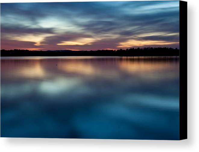 Arkansas Canvas Print featuring the photograph Blue Skies Of Reflection by Jonas Wingfield
