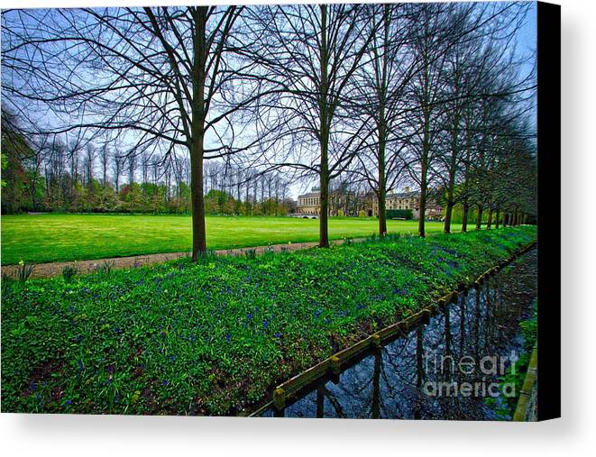 Bluebells Canvas Print featuring the photograph Bluebells In England by Nick Wardekker