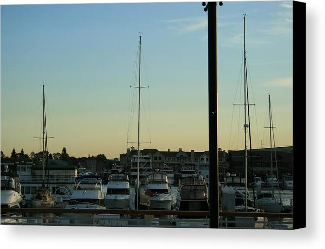 Boat Canvas Print featuring the photograph Boat Harbor by Joshua Sunday