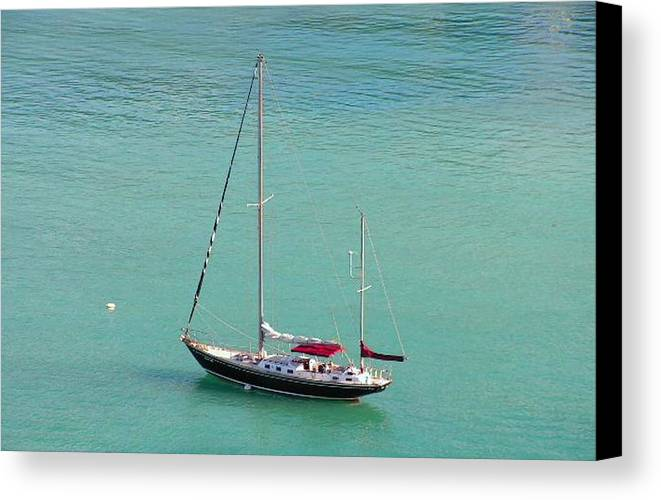 Photography Canvas Print featuring the photograph Boat by Katina Cote