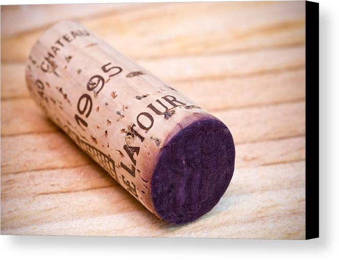 Bordeaux Canvas Print featuring the photograph Bordeaux Wine by Frank Tschakert