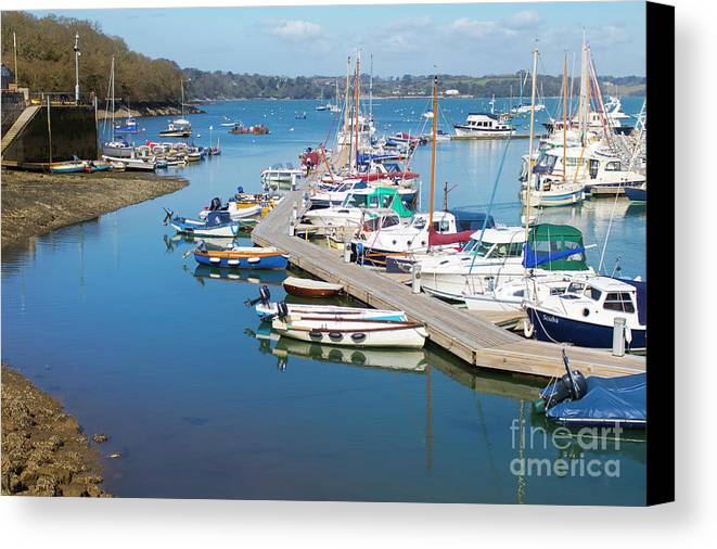 Mylor Canvas Print featuring the photograph Built For Speed by Terri Waters