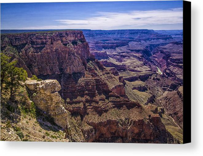 Arizona Canvas Print featuring the photograph Canyon #2 by Harry Brown