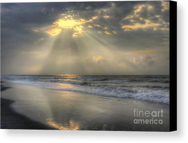 Sunrise Canvas Print featuring the photograph Carpe Diem by Jeff Breiman
