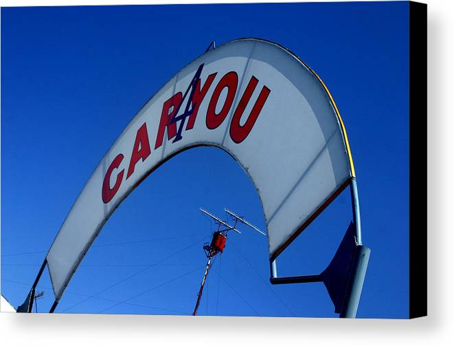 Photographer Canvas Print featuring the photograph Caryou by Jez C Self