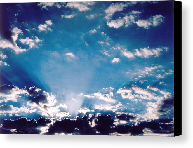 Clouds Canvas Print featuring the photograph Catalina Sunrise by Greg Taylor