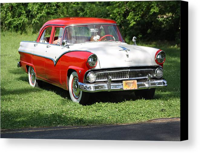 Canvas Print featuring the photograph Cherry by Jim Simms