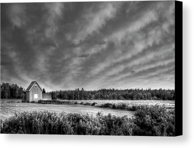 Cablehead Canvas Print featuring the photograph Cloud Illusion by Elisabeth Van Eyken
