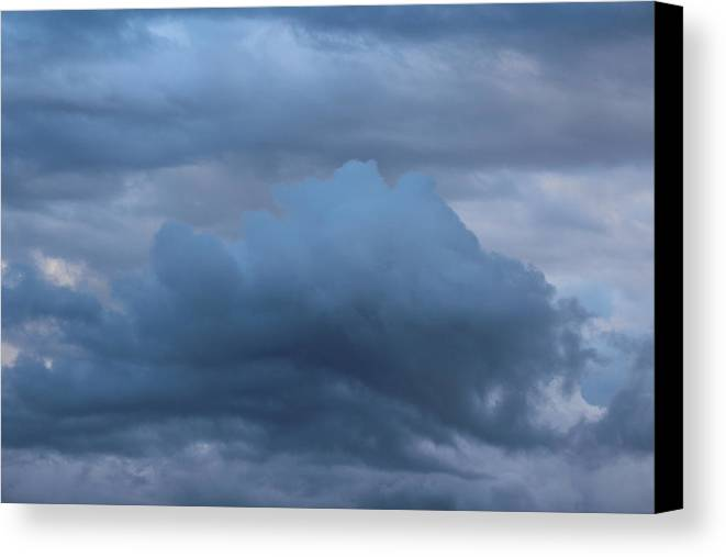 Cloud Canvas Print featuring the photograph Clouds Four by Modern Art