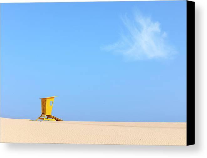 Corralejo Natural Park Canvas Print featuring the photograph Corralejo - Fuerteventura by Joana Kruse