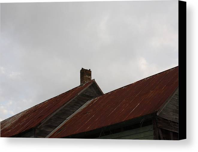 Sky Canvas Print featuring the photograph Country Store Four by Paula Coley