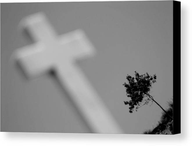 Photographer Canvas Print featuring the photograph Crossed 7 by Jez C Self