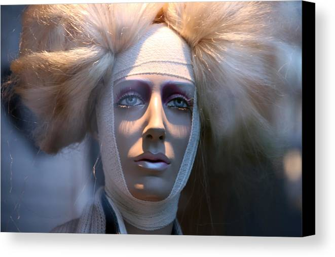 Mannequin Canvas Print featuring the photograph Darcey 2 by Jez C Self