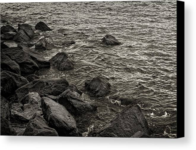 Water Canvas Print featuring the photograph Dark Water by Robert Ullmann