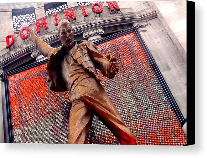 Jez C Self Canvas Print featuring the photograph Dominion Queen by Jez C Self