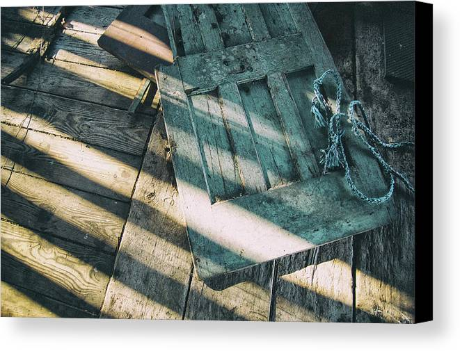 Canvas Print featuring the photograph Door On The Floor by Marvin Borst