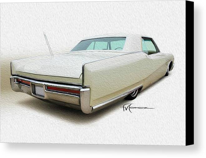 Classic Automobiles Canvas Print featuring the photograph Lo-to-go Buick by Felipe Gomez